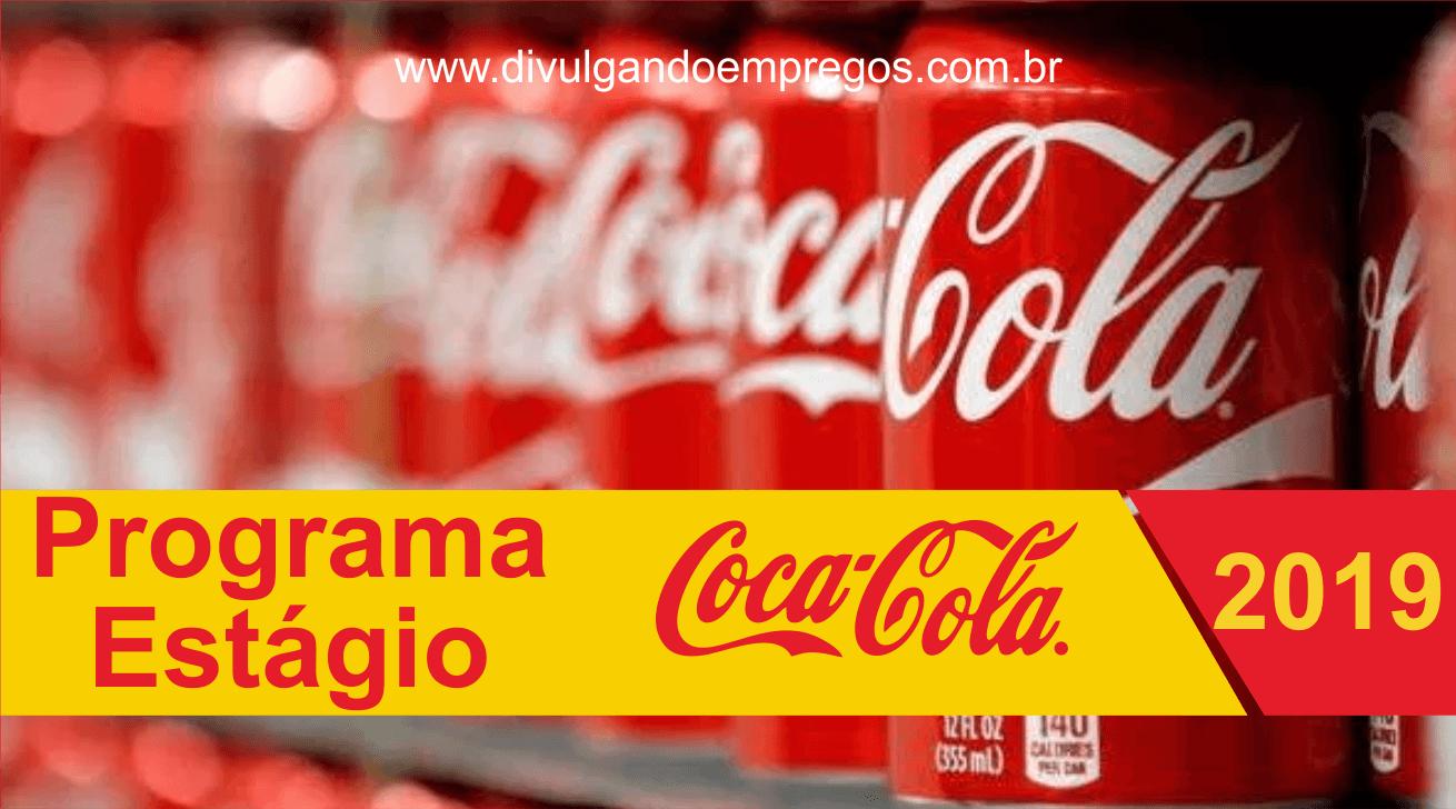 Coca-Cola está selecionando estagiários em São Paulo