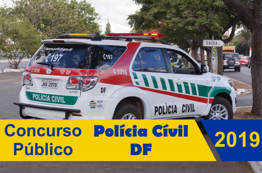 Concurso Público da Polícia Civil do DF 2019 oferece 300 vagas para cargo de Escrivão