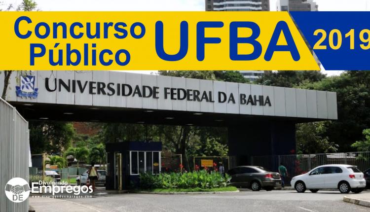 UFBA abre inscrição para concurso para 102 novas vagas para professores