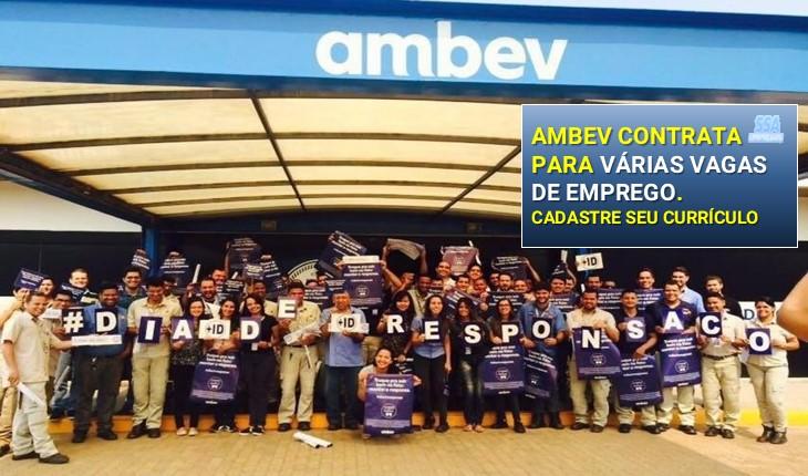 AMBEV -Oportunidade de Trabalho