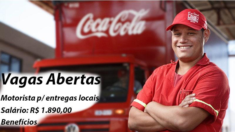 COCA-COLA - Vagas para motorista