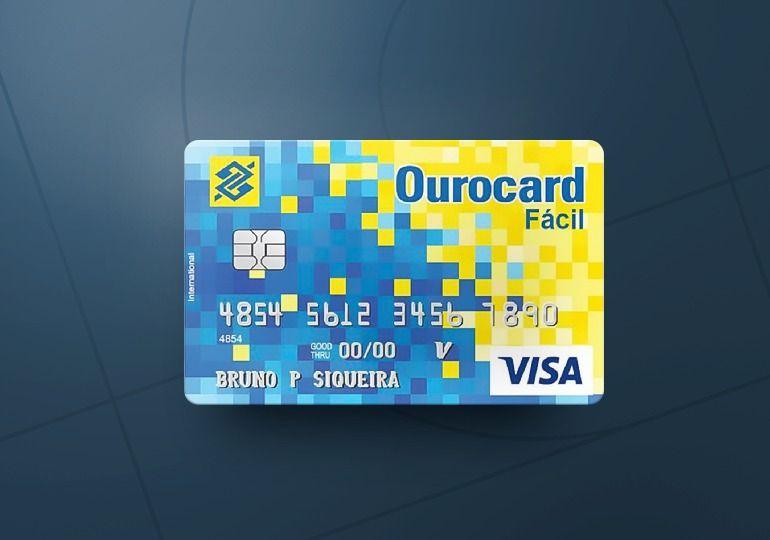 Cartão de Crédito Ourocard do BB sem anuidade